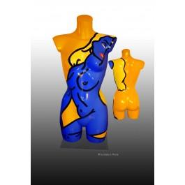 "POP - ART Skulptur "" Norma Jean Lives"""
