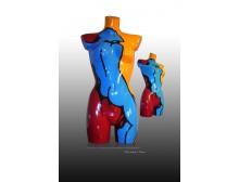 "Skulptur  POP-ART ""Norma Jeans Lives"""